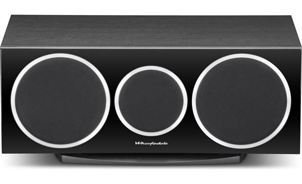 Wharfedale Diamond 220C Straight-on view with grille in place