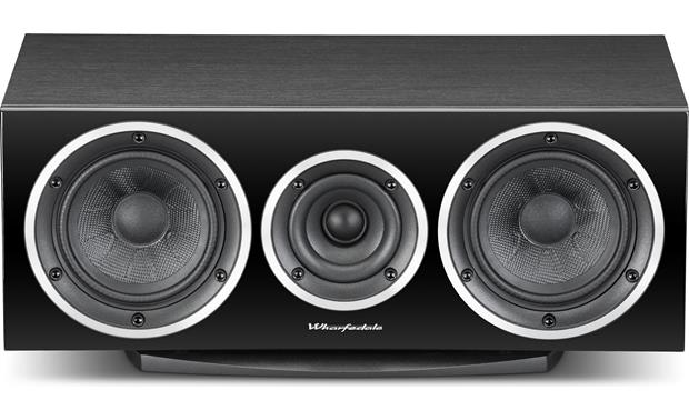 Wharfedale Diamond 220C Straight-on view with grille removed