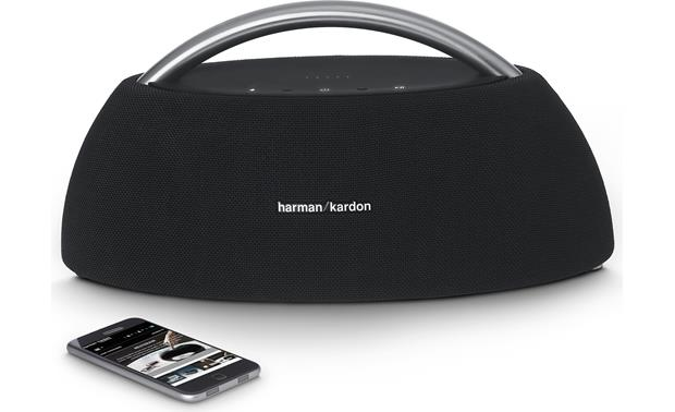 Harman Kardon Go + Play Black - stream wirelessly from your phone (smartphone not included)
