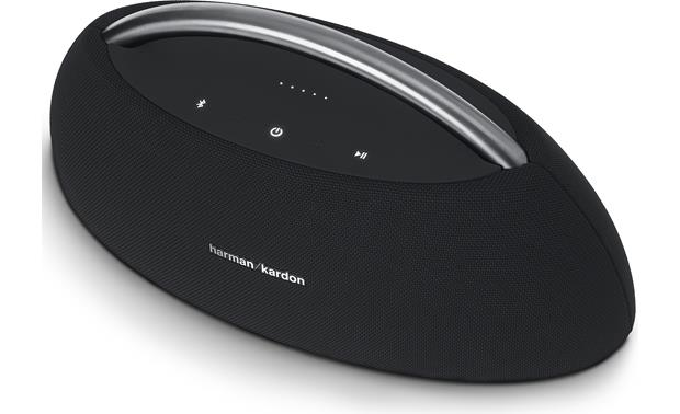 Harman Kardon Go + Play Black - top-mounted control buttons