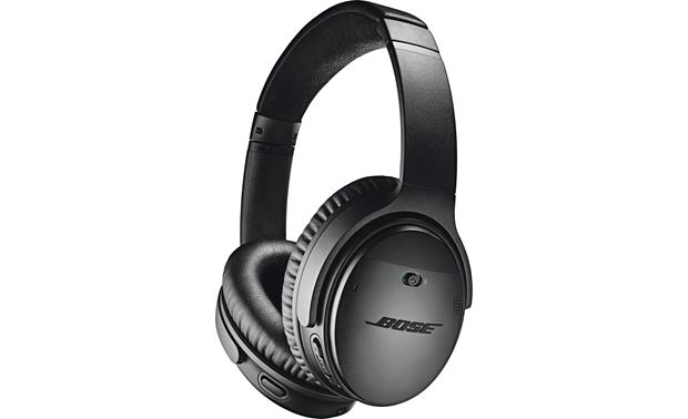 a3137cd19b6 Bose® QuietComfort® 35 wireless headphones II (Black) at Crutchfield