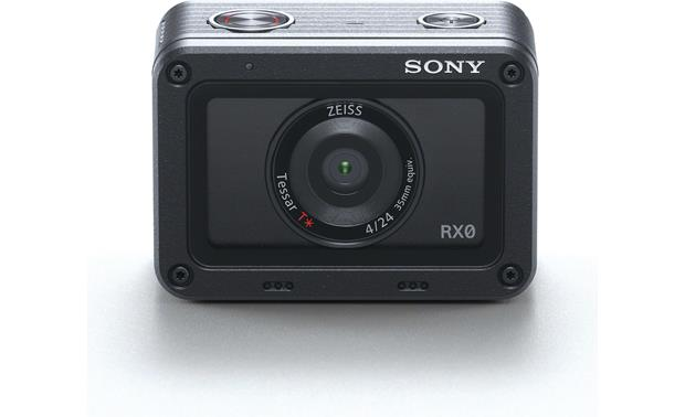 Sony DSC-RX0 Front, straight-on
