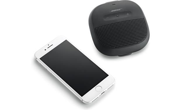 Bose® SoundLink® Micro <em>Bluetooth®</em> speaker Black - stream wirelessly via Bluetooth (smartphone not included)