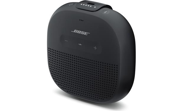 Bose® SoundLink® Micro <em>Bluetooth®</em> speaker Black - right front