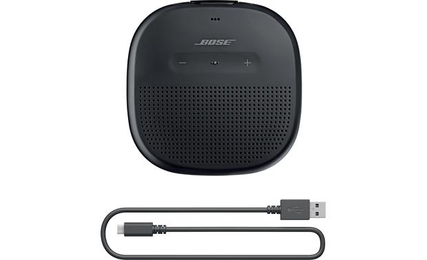 Bose® SoundLink® Micro <em>Bluetooth®</em> speaker Black - charging cable included