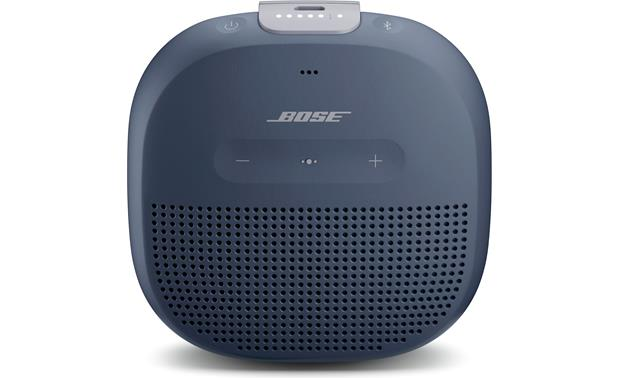 Bose&reg; SoundLink&reg; Micro <em>Bluetooth&reg;</em> speaker Blue with gray strap