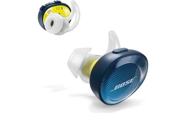 Bose Stereo >> Bose® SoundSport® Free wireless headphones (Midnight Blue/Yellow Citron) at Crutchfield.com