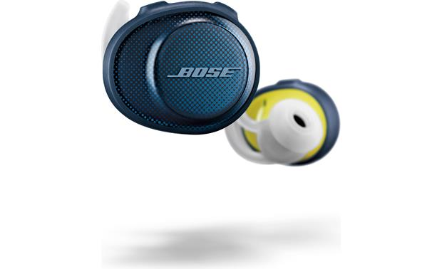 Bose® SoundSport® Free wireless headphones Extra-soft StayHear®+ Sport ear tips fit securely and comfortably during workouts