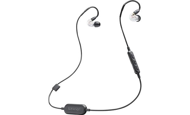 Shure SE215-BT1 Music plays wirelessly via Bluetooth