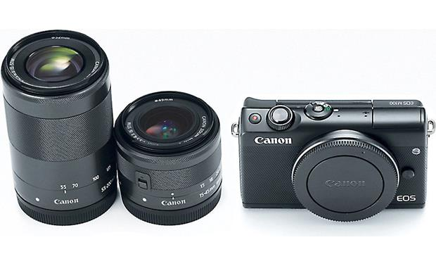 Canon EOS M100 Two Lens Kit Other