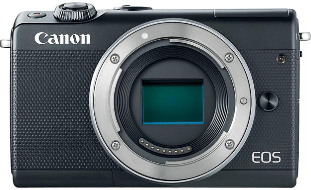 Canon EOS M100 Two Lens Kit Shown without lens