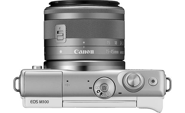 Canon EOS M100 Two Lens Kit Top