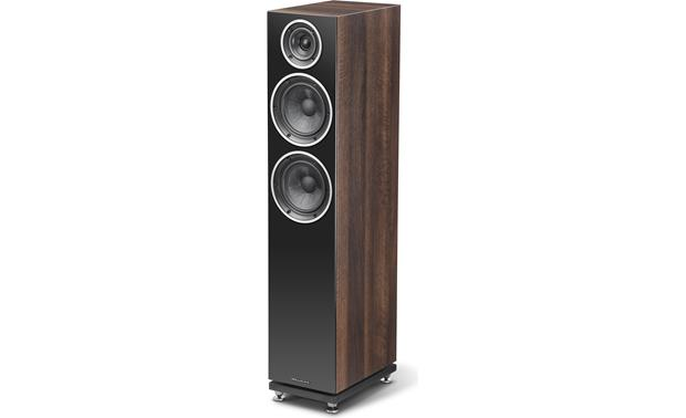 Wharfedale diamond 230 walnut pearl floor standing speaker at wharfedale diamond 230 two sets of input terminals allow bi amping or bi wiring asfbconference2016 Choice Image