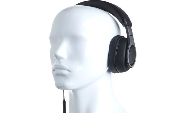 Klipsch Reference Over-ear Mannequin shown for fit and scale