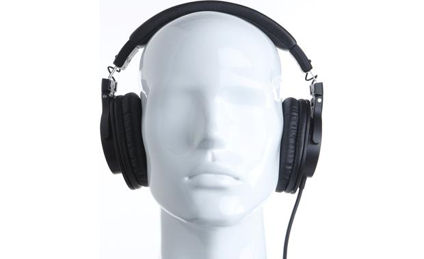 Audio-Technica ATH-M30x Mannequin shown for fit and scale