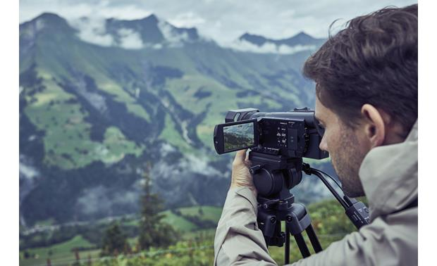 Sony Handycam® FDR-AX700 Record this incredible view in 4K with the Sony Handycam FDR-AX700