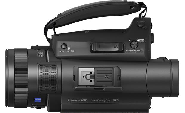 Sony Handycam® FDR-AX700 Multi-interface shoe for accessories