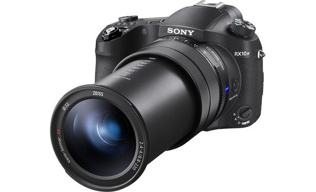 Sony Cyber-shot DSC-RX10M4 Shown with lens extended