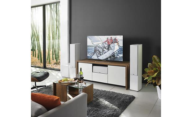 Revel Concerta2 F36 A Concerta2 surround sound system anchored by a pair of F36s
