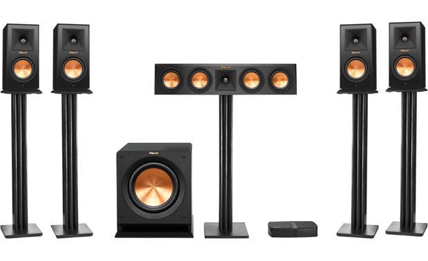 klipsch reference premiere hd wireless 5 1 surround sound system rh crutchfield com