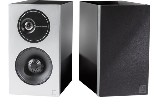 Definitive Technology Demand Series D7 Left speaker shown with grille removed