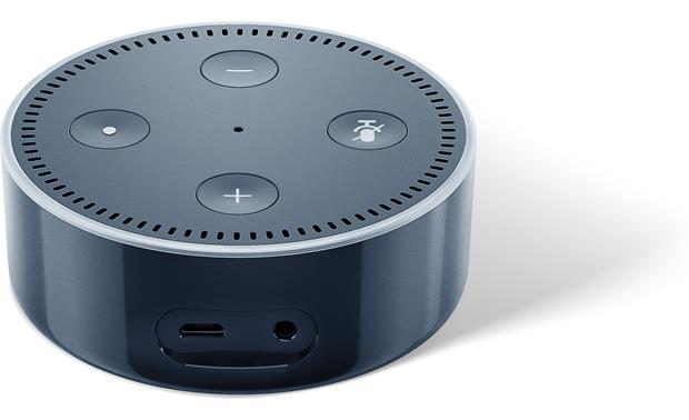 Amazon Echo Dot Back