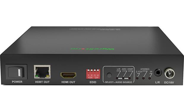 WyreStorm HDBaseT™ AMP-001-010 Connections and controls