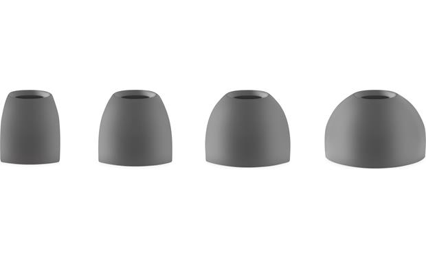 Bang & Olufsen Beoplay E8 Includes four sizes of silicone ear tips (five pairs of ear tips all together)