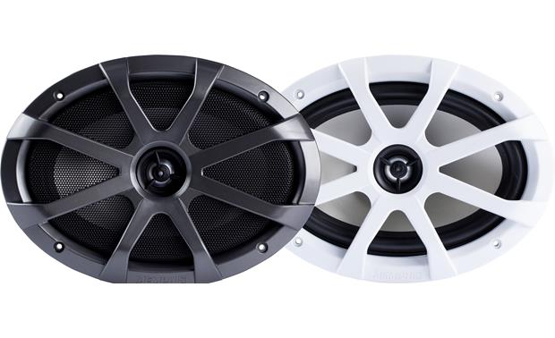 Memphis Audio MXA69 black and white grilles included