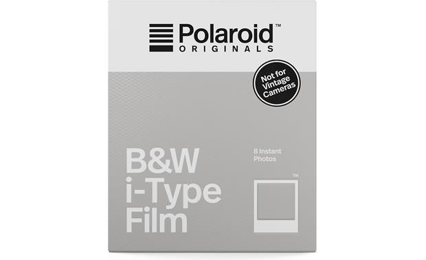 Polaroid I-type Black & White Film Front