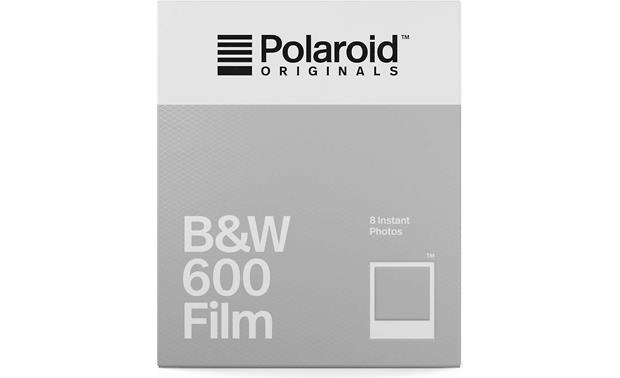 Polaroid Originals 600 Black & White Film Front
