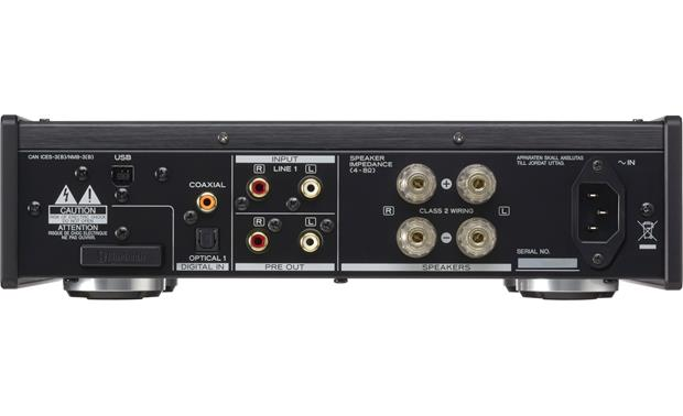 TEAC AI-503 Back (shown in black)