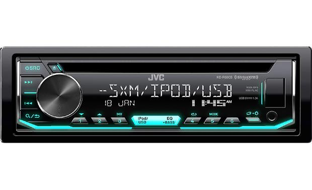 JVC KD-R690S Get all kinds of radio and digital music options for the longest journeys