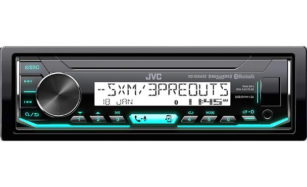 JVC KD-X35MBS digital media receiver