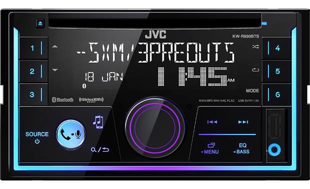 JVC KW-R930BTS CD receiver at Crutchfield