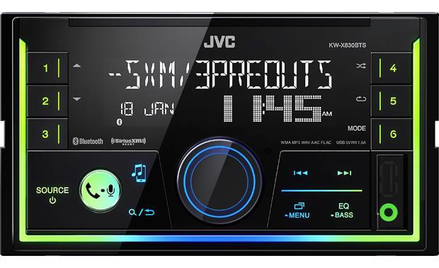 JVC KW-X830BTS