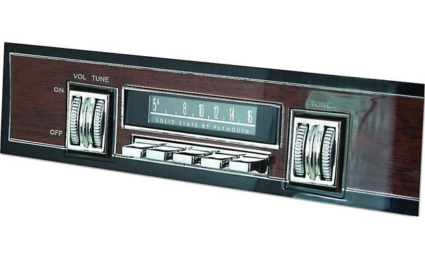RetroSound SCP-36 Vintage Dial Screen Overlays Front