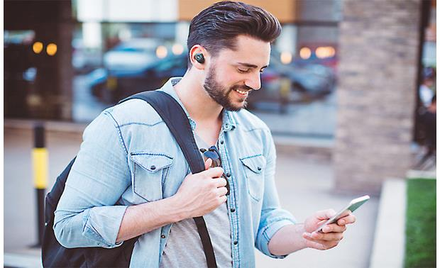 JBL Free X Music plays wirelessly from your phone