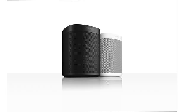 Sonos One Available in black or white
