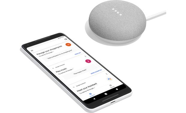 Google Home Mini Download the free Google Home app to your smartphone for easy setup