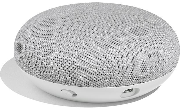 Google Home Mini Turn the mic on and off via the switch on the side