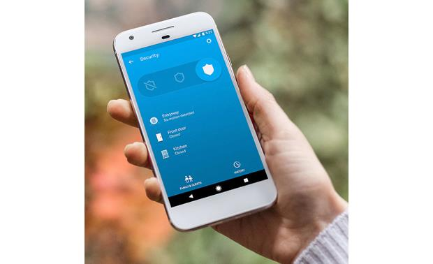 Nest Secure Alarm System Starter Pack The Nest app gives you control over the system and sends alerts to your smartphone