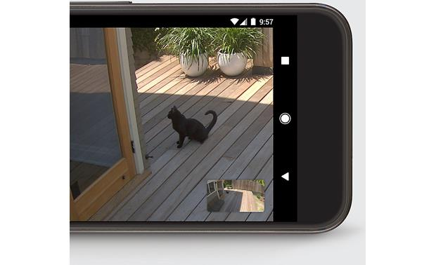 Nest Cam IQ Outdoor Security Camera Get live-view footage from anywhere using your smartphone