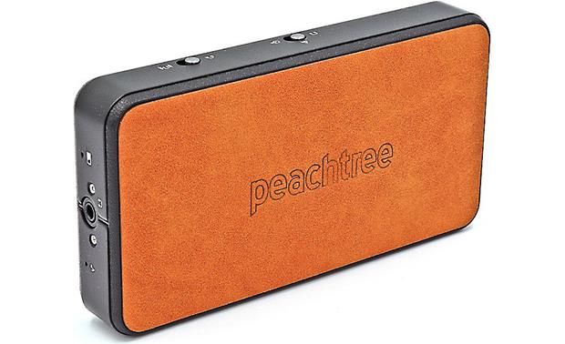 Peachtree Audio Shift Stylish leather exterior on the top and bottom