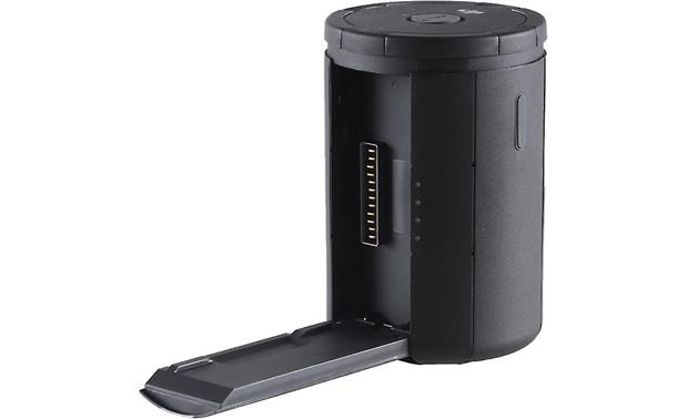 DJI Inspire 2 Intelligent Flight Battery Charging Hub Shown with one charging port open