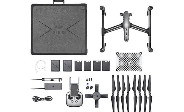 DJI Inspire 2 Shown with included accessories