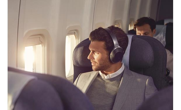 Sony WH-1000XM2 Adaptive noise cancellation adjusts to your surroundings, movement, and even your altitude