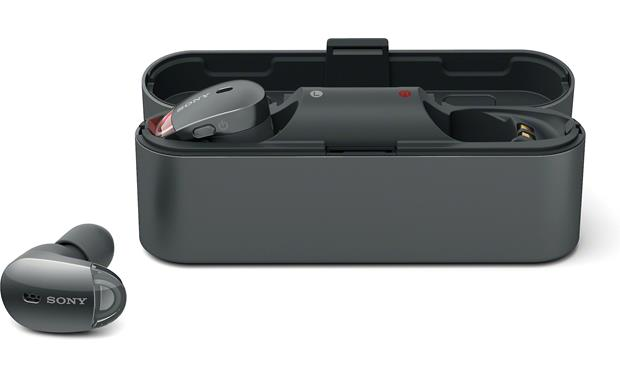 Sony WF-1000X Wireless charging case banks up to 6 hours of battery life