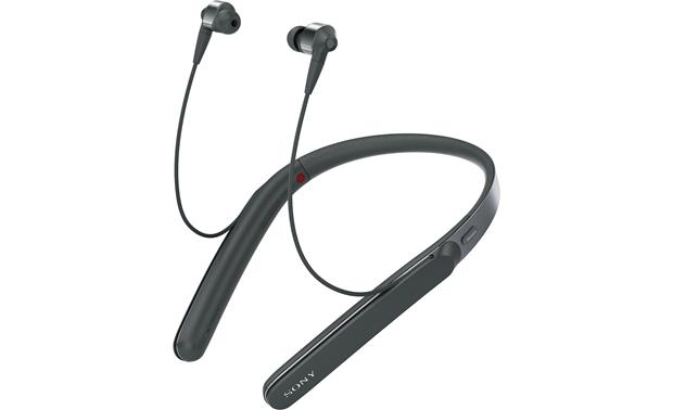 Sony WI-1000X Wireless neckband earbuds with intuitive noise-canceling technology