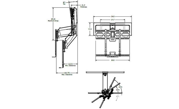 Mantel Mount MM540 — Factory Refurbished Specs